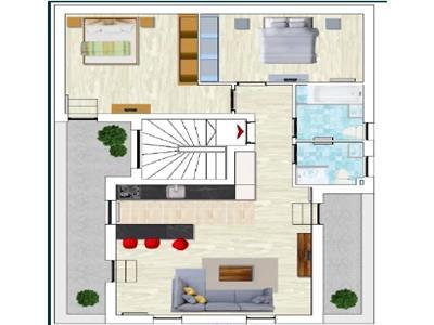 Apartament de 3 camere de vanzare - Borhanci