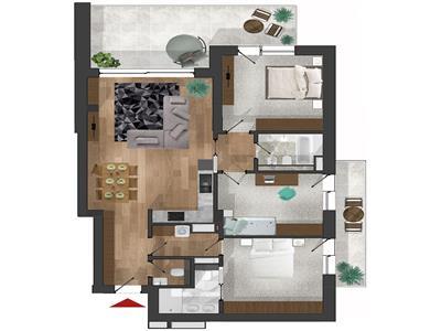 Apartament de lux de inchiriat - Buna Ziua