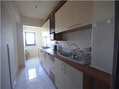 Inchiriere apartament 1 camera, 42 mp, decomandat, Marasti zona OMV, comision 0%