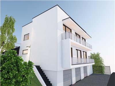 Apartamente 3 camere de vanzare in vila - C4, ap.2,  Borhanci