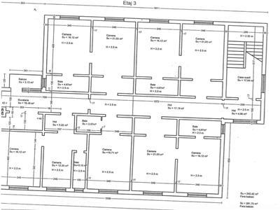 Imobil de inchiriat (ideal scoala, clinica medicala) - zona centrala