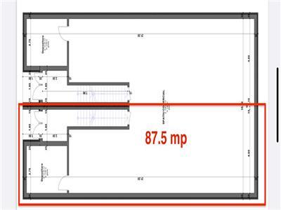Spatiu comercial de vanzare (87.5 mp) - zona Intre Lacuri